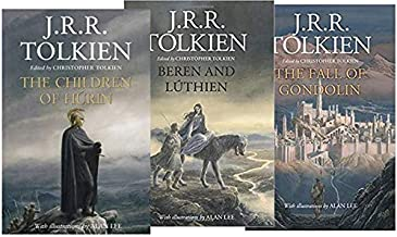 [The Great Tales of Middle-earth 3 Book set: Children of Húrin, Beren and Lúthien, and The Fall of Gondolin] by J.R.R. Tolkien