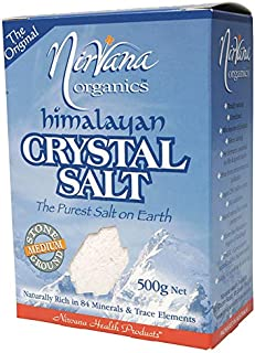 Nirvana Organics Himalayan Crystal Salt Medium 500 g