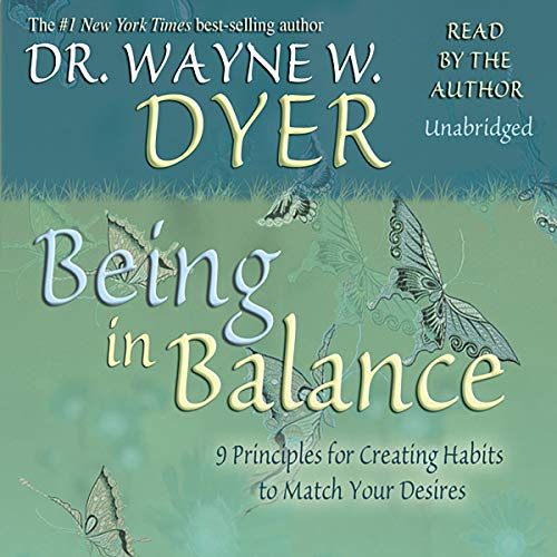 Couverture de Being In Balance