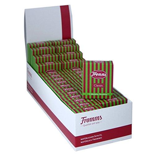 90 (30 x 3er) Fromms Classic trockene Kondome