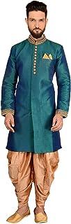 Ethnic Traditional Occasional Partywear Banarasi Silk Indo Western for Men. ICW3043-9