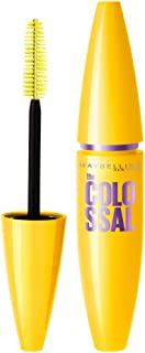 Maybelline New York Volume Express Colossal Mascara, Washable, Glam Black, 10.7ml
