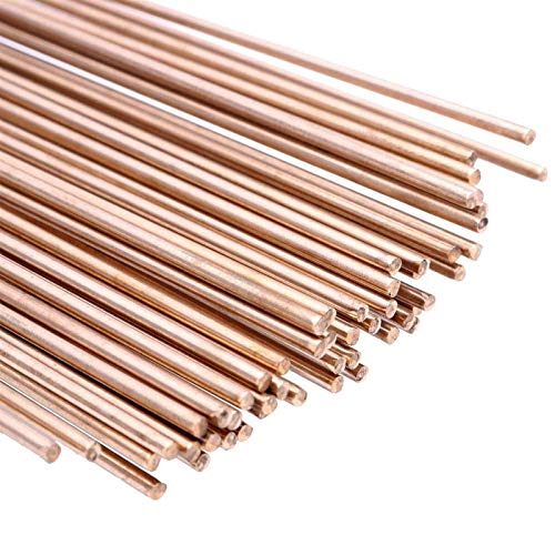 Auoeer 1000g 100cm 1.6mm Dia 50000 PSI Silicon Bronze Brass Tig Brazing Welding Rods tool