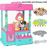 Ouqian-BB Garra Toy Grabber la Máquina Garra de la máquina de Juego de arcada de Caramelo en Forma de Mano con el Mejor Sonido de cumpleaños y Navidad Regalos for Niños Niñas Mini Máquina de Garra