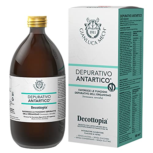 "Gianluca Mech Suplemento Alimenticio Depurativo ""Decottopia"" - 500 ml"