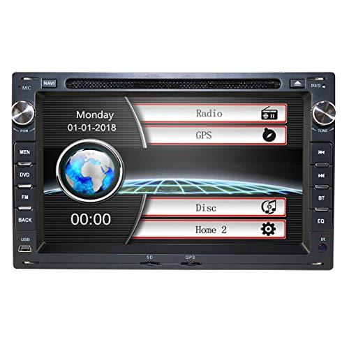 7 Pulgadas 2 DIN Car Radio Reproductor de DVD Especial para VW Jetta Passat Golf Polo Tiguan Soporte GPS Navegación Bluetooth Radio USB Una Tarjeta SD Gratuita