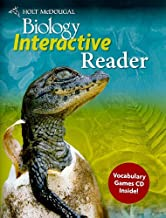 Holt McDougal Biology: Interactive Reader With Vocabulary Word Games CD-ROM