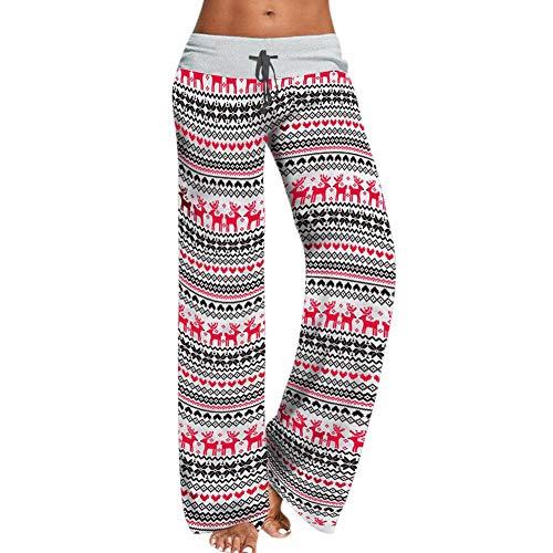 Pantalones de salón con cordón casual leggings de yoga con...
