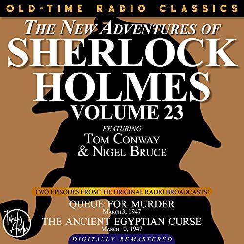 Couverture de The New Adventures of Sherlock Holmes, Volume 23