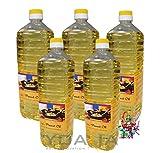 5er Pack 100% Erdnuss-Öl [5x 1000ml] Erdnussöl ~ Peanut Oil ~ Wok Öl
