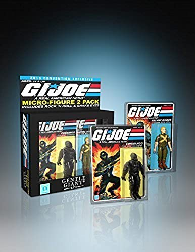 SDCC 2015 G.I. JOE Rock N' Roll and Snake Eyes Micro Figures by G. I. Joe