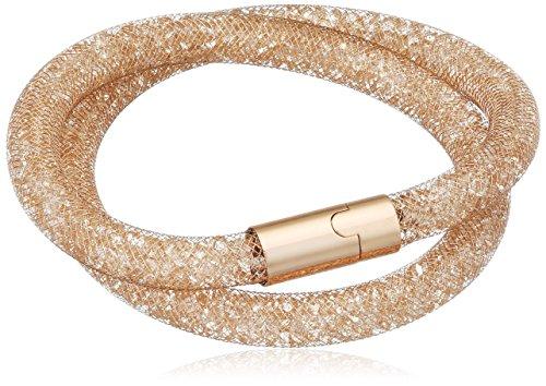 Swarovski Damen-Armband Glas rosa 40 cm - 5159278