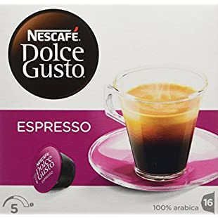 NESCAFÉ Dolce Gusto Espresso, Pack of 3 (Total 48 Capsules, 48 servings):Diet-beauty