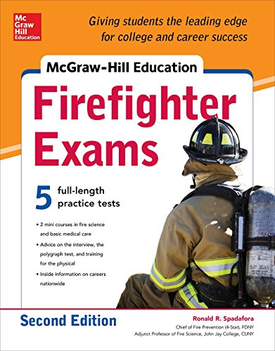 McGraw-Hill Education Firefighter Exam, 2nd...