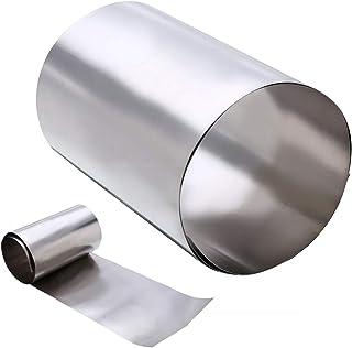 tama/ño : 0.05x100x1000mm 0,05 mm de Espesor 0,3 mm x 100 mm de Ancho x 1000 mm Longitud 1pc del Acero Inoxidable de 301 Hojas y Tiras de Fabricante NO LOGO FMN-Tape