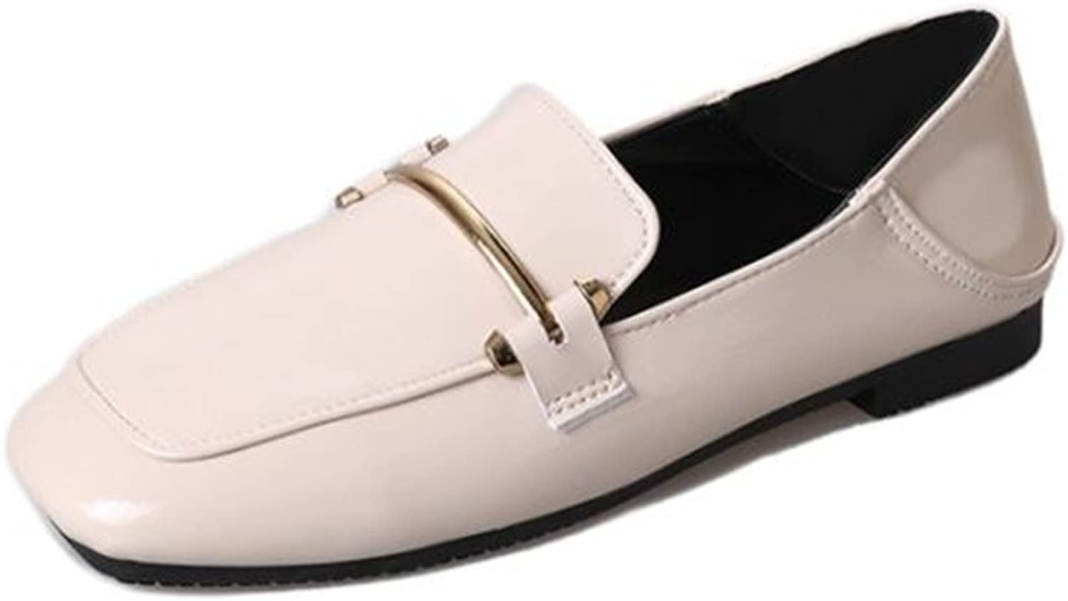 SUNNY Store Women's Wide Width Ballet Flat - Comfortable Slip On Pointed Toe Casual shoes