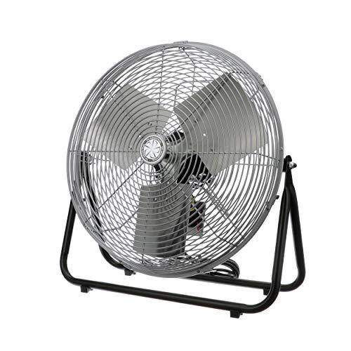 TPI Corporation F18-TE Industrial Workstation Floor Fan, Single Phase, 18' Diameter, 120 Volt (Floor Model)