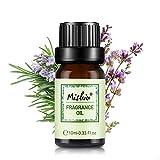 Mishiu Aceites Fragancia Aromaterapia 100% Natural Orgánico Puro Aceite Esencial de 10ML - Romero y salvia