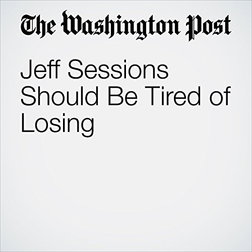 Jeff Sessions Should Be Tired of Losing copertina