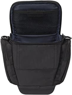 RivaCase 7202 SLR Camera Holster Case with side pockets- black