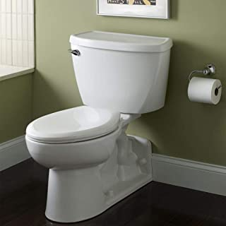 American Standard 2878.016.020 Yorkville Right Height Elongated Pressure Assisted Two Piece Toilet, White