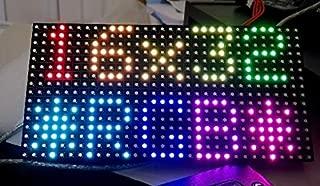 PANEL LED P10 RGB módulo LED Super brillante programable, 32 x 16 píxeles Full Color LED Matrix Panel, 1/8 Para Arduino NANO, UNO, MEGA o Raspberry