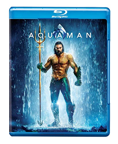 Aquaman blue Ray DVD
