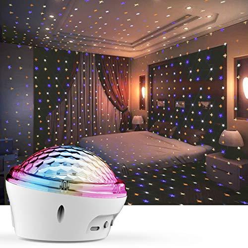 LED Nachtlicht für Kinder, Sternenhimmel Projektor LED Projektor Lampe, 4 Modi und Timer Einstellung, Drei Platzierungsmethoden, für Kinds, Schlafzimmer, Geburtstagsfeier [2020 Neueste]