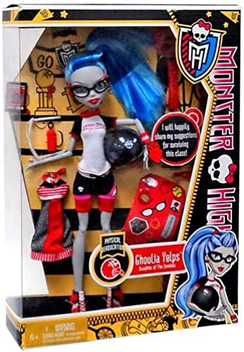 Monster High Y4685- Monsterklasse Puppe Ghoulia Yelps + extra Mode- Modell 2013