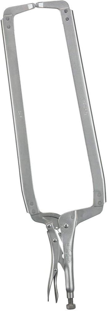 New arrival IRWIN VISE-GRIP C Clamp Bargain sale Original Tips Locking 24-Inch Regular