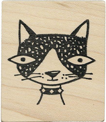 Tampon en caoutchouc - Cat with big eyes - Cats Life Press 1115 D
