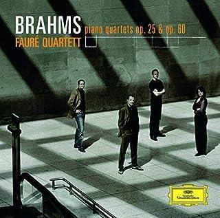 ブラームス:ピアノ四重奏曲第1番・第3番