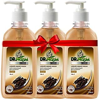 Dr. Neem Oud Liquid Hand wash 3x250 ml