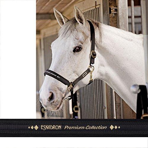 ESKADRON Halfter TREND mit Schiebeschnalle, schwarz, Pony groß