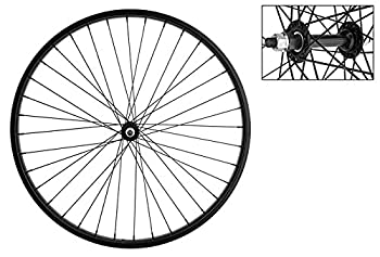 Wheel Master Front Bicycle Wheel 26 x 1.75/2.125 36H Steel Bolt On Black