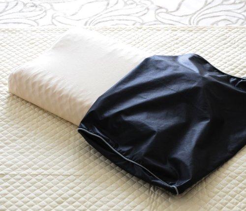 エムール肩こりに効く磁気枕防ダニカバー付30×50cm医療用具許可商品ブラック