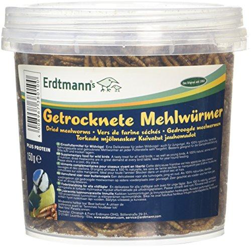 Erdtmanns getrocknete Mehlwürmer, 1er Pack (1 x 150 g)