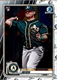 2020 Bowman Chrome #30 Sheldon Neuse RC Rookie Card Oakland Athletics Official MLB Baseball Trading Card in Raw (NM or Better) Condition. rookie card picture
