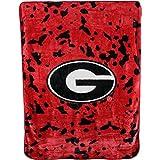 College Covers NCAA Rachel Throw Blanket, 63 in x 86 in, Georgia Bulldogs