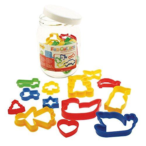 Bigjigs Toys Boîte de 24 emporte-pièces pour enfants