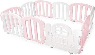 IFAM Play Yard with Door Set 207 x 147 cm, Pink/white