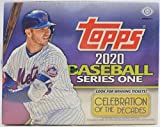 2020 Topps Series 1 Baseball Jumbo Box (10 Packs/46 Cards 2 Silver Packs, 1 Auto and 2 Relics)