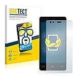 BROTECT Schutzfolie kompatibel mit BQ Aquaris E4.5 (2 Stück) klare Bildschirmschutz-Folie