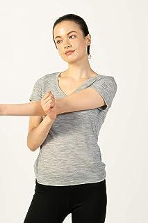 super.natural dames base V-neck T-shirt 140