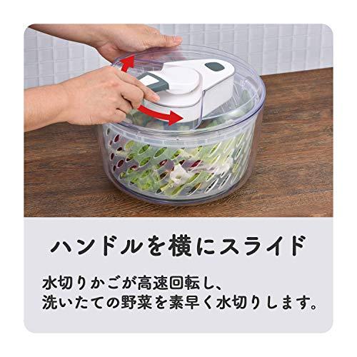 和平フレイズ調理器具野菜水切りサラダスピナースティージーME-7125