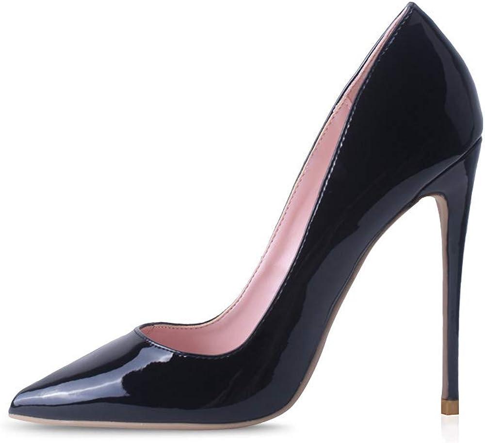 Elisabet Tang Women Pumps Pointed Toe P inch 12cm High 4.7 Heel 4 online shop years warranty