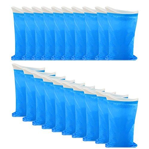 Monkey Home-Urin-Beutel, 10Stück, Camping, Wandern,.-Tasche, für Outdoor, Reise, Notfall-WC für Traffic Jam (Auto, Tasche für Herren, Damen, Kinder, 0768, blau