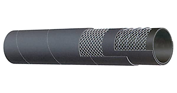 USCG//SAE J1527 B2 Kuriyama T600AA175X25 Hard Wall Marine Exhaust Hose