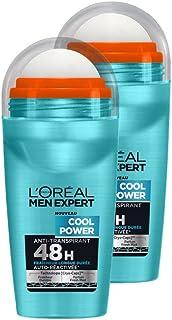 L'Oréal Men Expert Desodorante fresco de la energía bola del hombre Lote 2