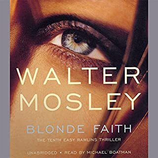 Blonde Faith audiobook cover art